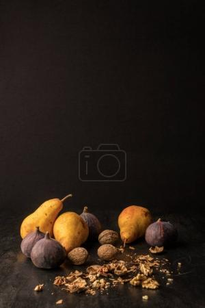 Fruits and walnuts