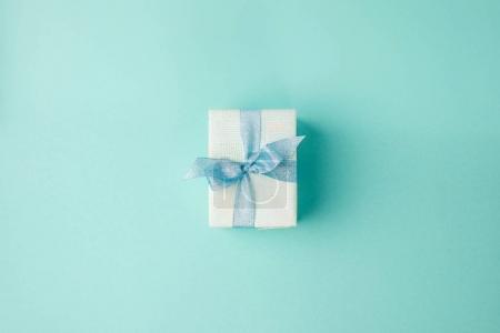 christmas gift with ribbon