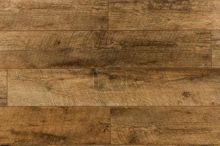 Photo for Close up view of empty dark brown wooden surface - Royalty Free Image