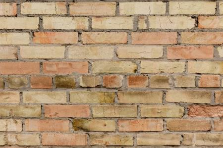 Empty brick wall