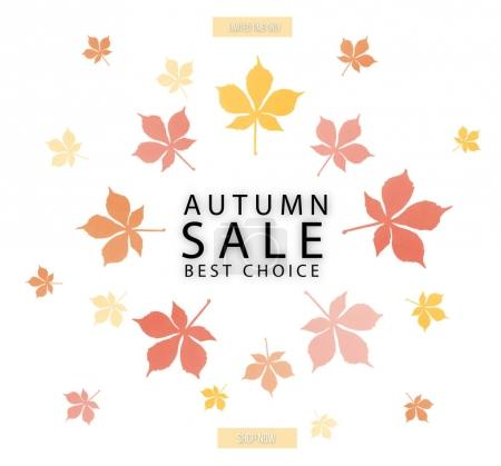 autumn sale concept