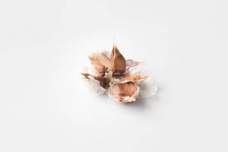 Photo for Spicy pilled garlic isolated on white - Royalty Free Image