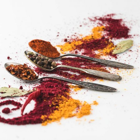 beautiful spices composition
