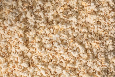 Photo for Top view of tasty popcorn texture - Royalty Free Image