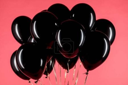 pack of black balloons
