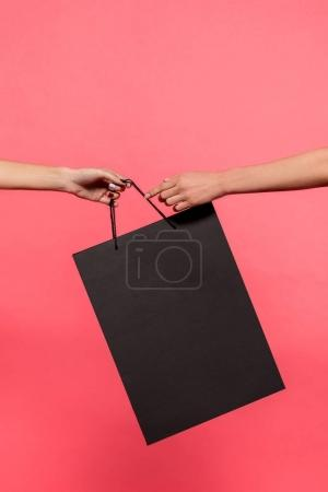 Women holding shopping bag