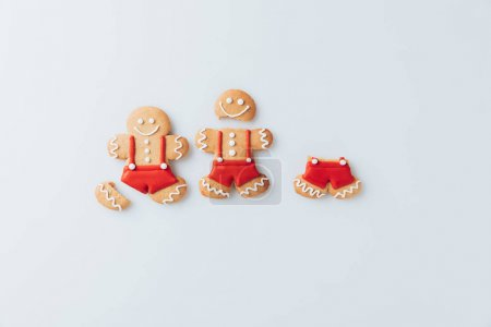 crashed Gingerbread men