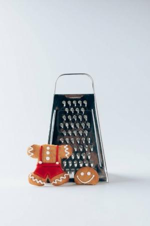 Grater and gingerbread man