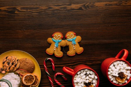 Gingerbread men and cacao