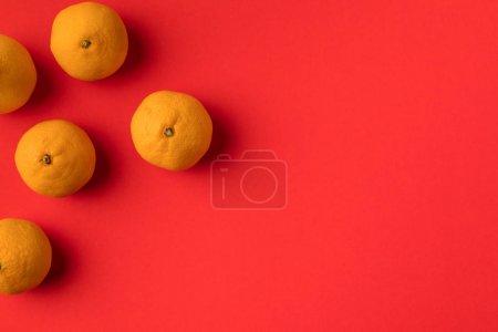 fresh ripe tangerines