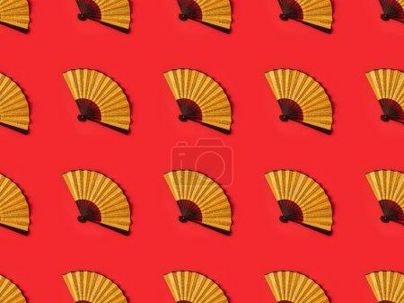 Oriental fans pattern