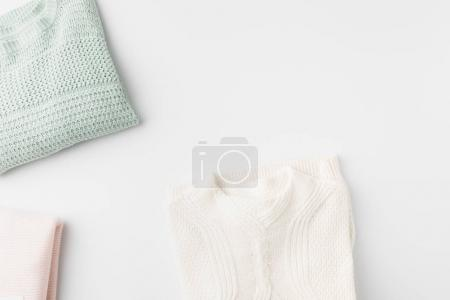 trendy light knitted sweater