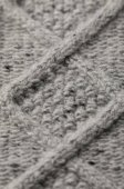 texture of knitted sweater with pattern