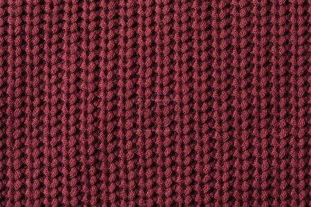 texture of burgundy sweater
