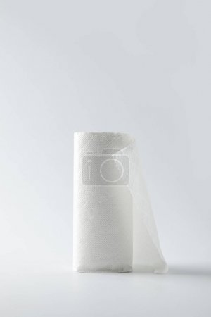 roll of kitchen paper isolated on white