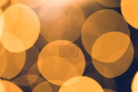 Photo for Beautiful round bokeh for holiday background - Royalty Free Image
