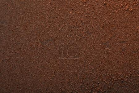Photo for Full frame of tasty cocoa powder on surface - Royalty Free Image