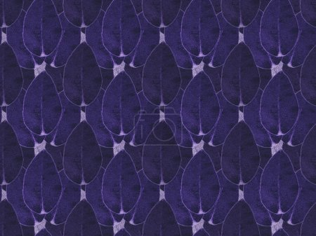 Photo for Pattern background with purple dark floral leaves - Royalty Free Image