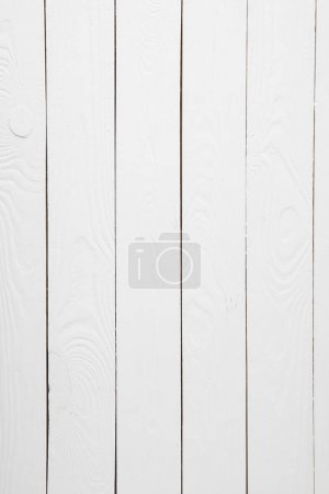 Textured empty white wooden background with copy space