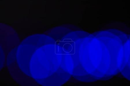 abstract dark blue blurred circles