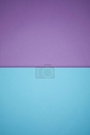 Photo for Geometric textured background with blue and purple colored paper - Royalty Free Image