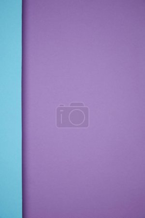 Photo for Beautiful bright geometric blue and purple paper background - Royalty Free Image
