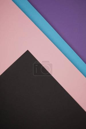 beautiful colorful geometric background made from colored paper