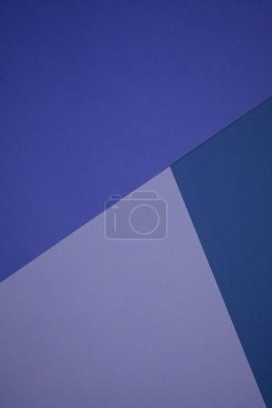 beautiful blue and purple abstract geometric background with colored paper