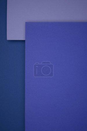 Foto de Fondo hermoso papel geométrico azul y púrpura - Imagen libre de derechos