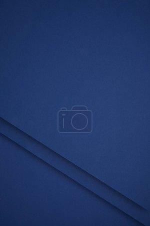 Foto de Fondo abstracto azul oscuro de papel de color - Imagen libre de derechos