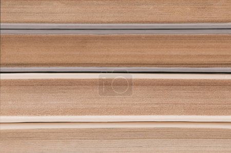 Photo for Close up view of old pages of books stack - Royalty Free Image