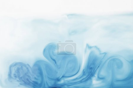 abstract light blue painted background