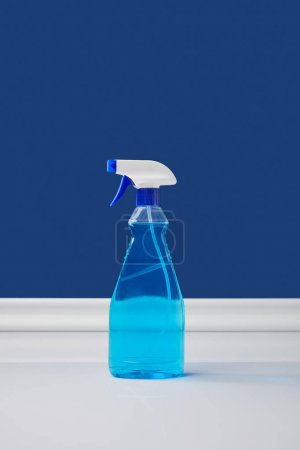 spray bottle with liquid for spring cleaning