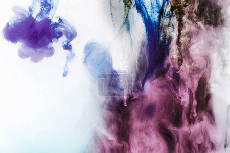 abstrakte bunte Hintergrund mit violetten und lila Farbe