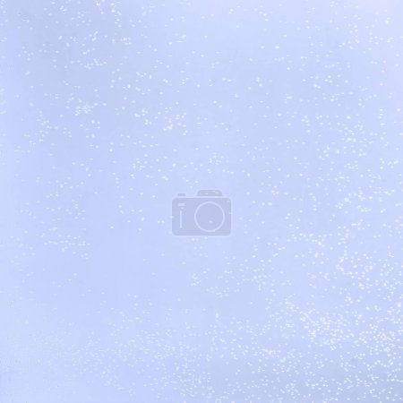 Photo for Abstract light blue background with glowing dots - Royalty Free Image