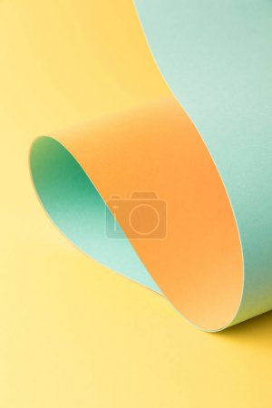 close-up view of bright colorful abstract paper background