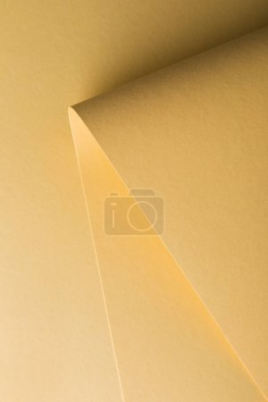 close-up view of beautiful creative yellow paper background