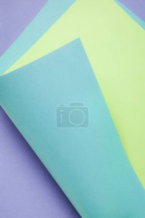 beautiful creative colored paper abstract background