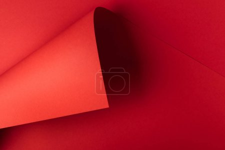 decorative creative bright red abstract paper background
