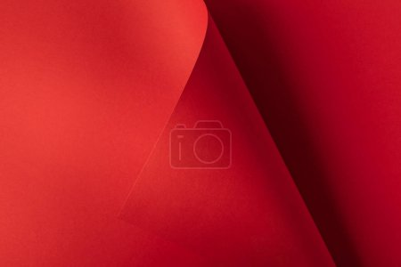 beautiful creative bright red abstract paper background
