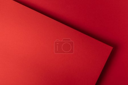 beautiful decorative bright red abstract background