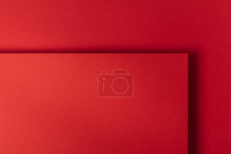 beautiful creative bright red paper background