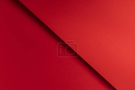 Photo for Beautiful bright red abstract blank paper background - Royalty Free Image
