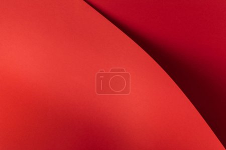 Photo for Bright red abstract blank paper background - Royalty Free Image