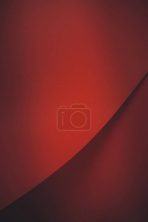 Photo for Red abstract blank paper background - Royalty Free Image