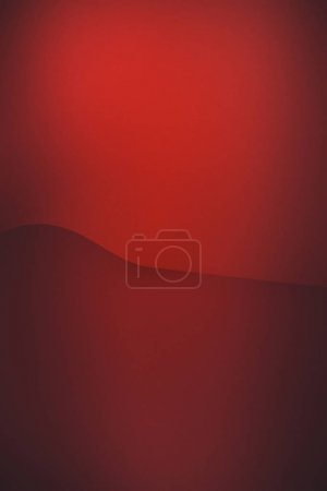 Photo for Empty red abstract paper background - Royalty Free Image