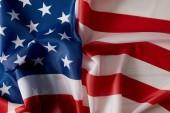 """Постер, картина, фотообои """"полный кадр изображения фона флаг Соединенных Штатов"""""""