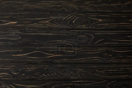 full frame image of dark wooden surface background