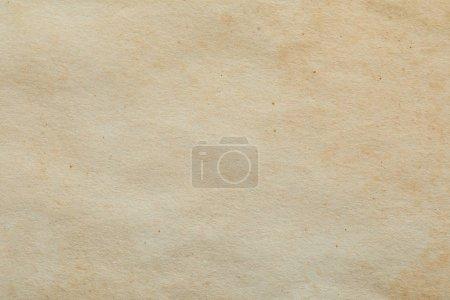 vue du dessus de la texture de papier beige vintage