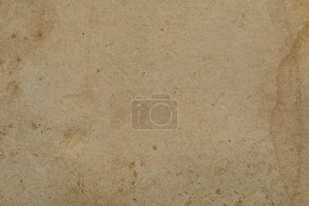 Photo for Top view of vintage dirty beige paper texture with copy space - Royalty Free Image